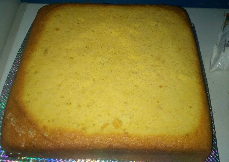 Nigeria plain cake recipe