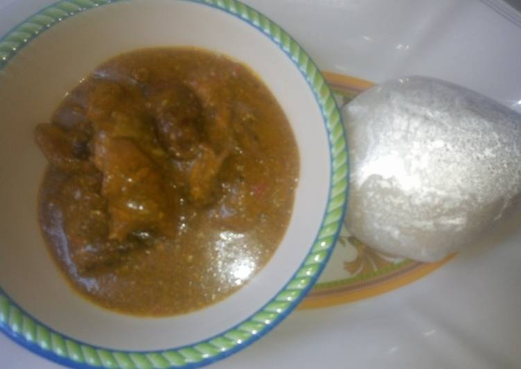 Recipe of Homemade Dried okro soup