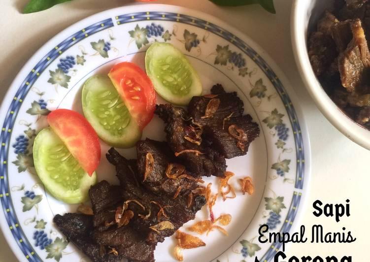 Resep Sapi Empal Manis Goreng Bikin Ngiler
