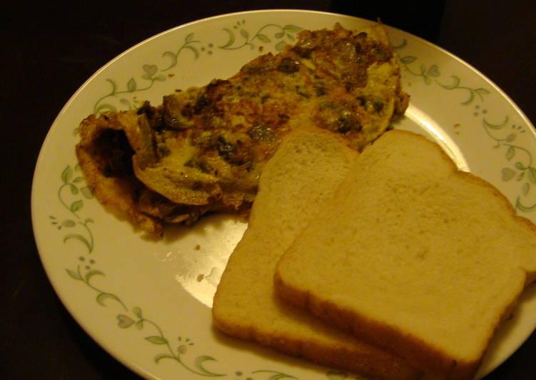 Mushroom Omlette