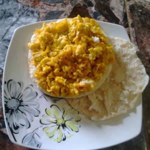 Huevo con auyama| Perico de auyama