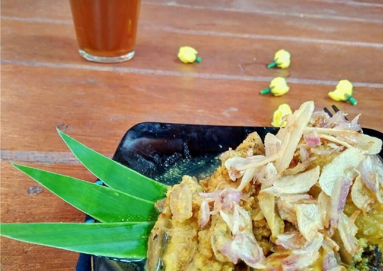 Sayur Ares Gurih Khas Lombok (Resep dari Kakak)