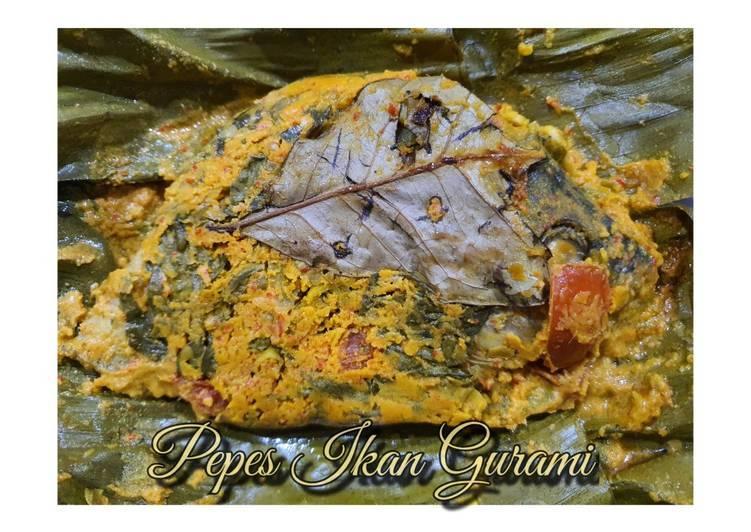 Pepes Ikan Gurami