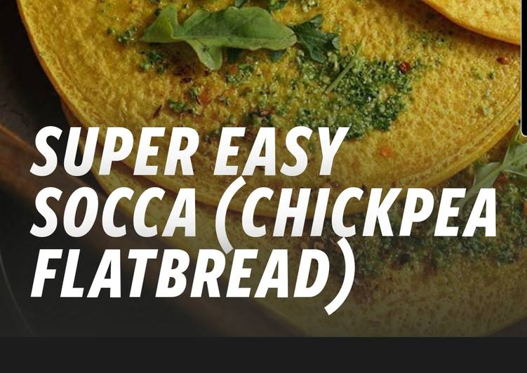 Chickpea flat bread