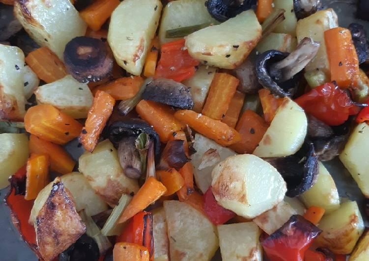 Recipe: Tasty Gemüse aus dem Backofen