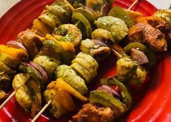 Easiest Way to Prepare Delicious Haara bharaa tandoori kabab