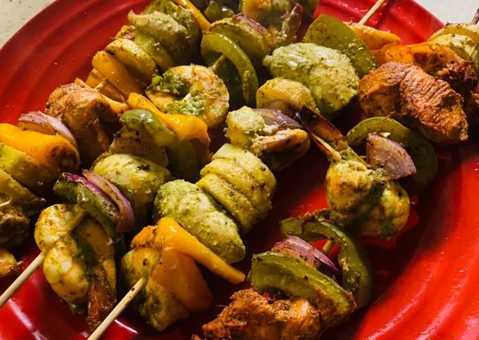 Haara bharaa tandoori kabab