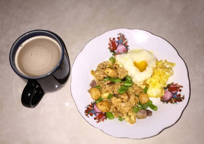 Nasi Goreng Diet — Nasi Goreng Oat (Non MSG)