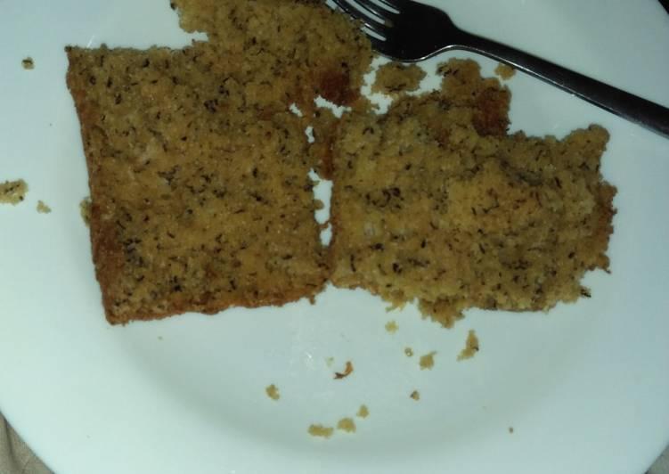 Sugerless cake
