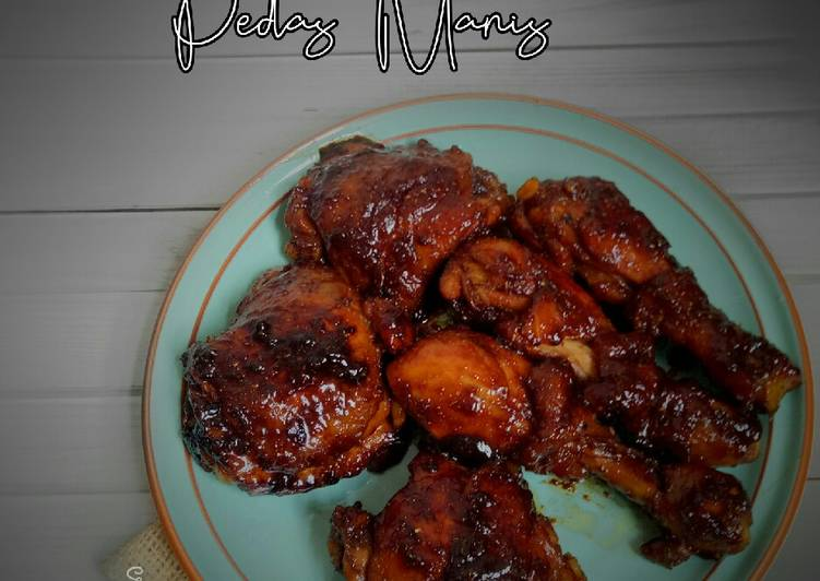 ayam-grill-pedas-manis