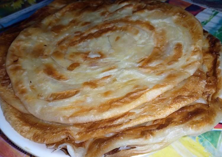 15 Minute Recipe of Favorite Laccha Paratha