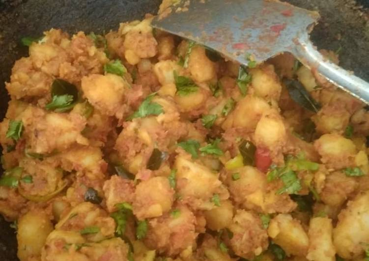 Masala aloo / spicy potato