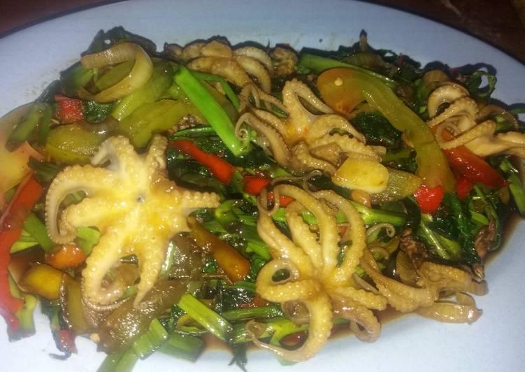 3. Cah Kangkung Seafood