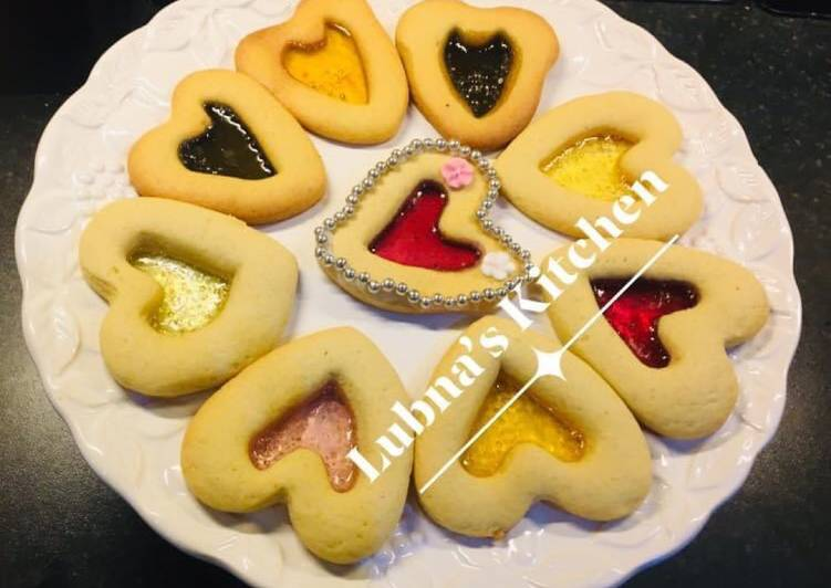 Stained Glass Cookies: