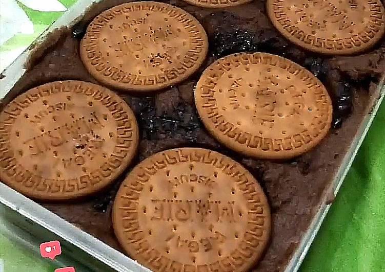 Puding Roti Brownies Coklat (Camilan Simple)