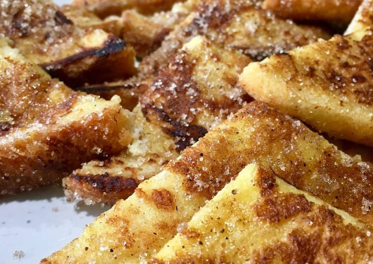 Easiest Way to Make Perfect Spanish-style French Toast