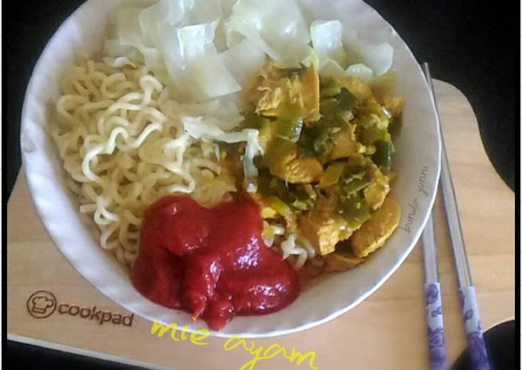 Resep Topping Ayam untuk Mie Ayam yang Sempurna