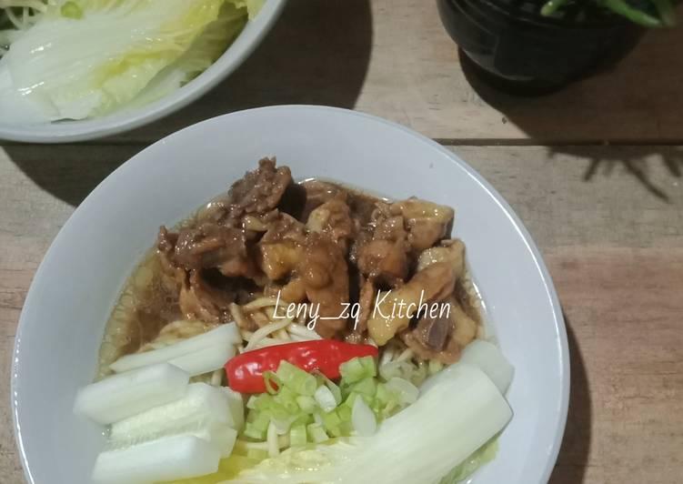 Mie Ayam Ekonomis (super simpel)