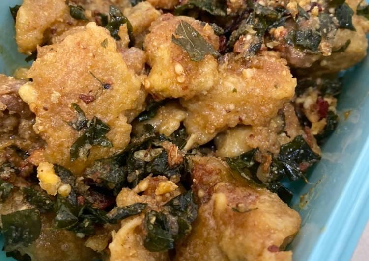 Salted Egg Fried Chicken - velavinkabakery.com