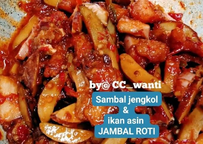 sambal jengkol & ikan asin jambal - resepenakbgt.com