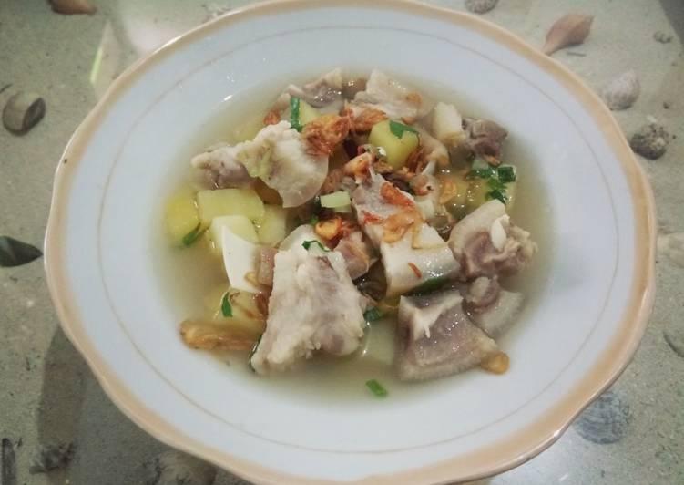 Resep Sop B2 Kentang Oleh Tanti Sayonodiharjo Cookpad