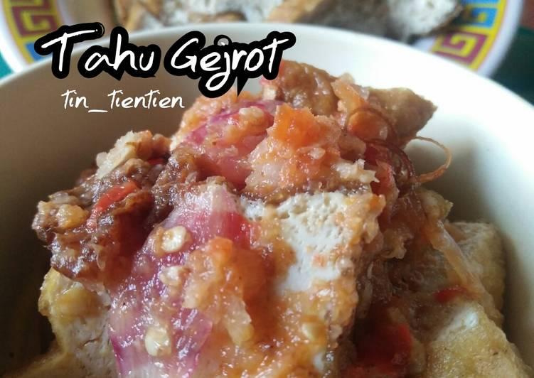 200. Tahu Gejrot - cookandrecipe.com