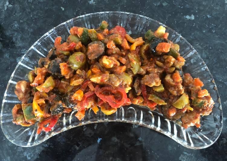 Olive salad Appetizer
