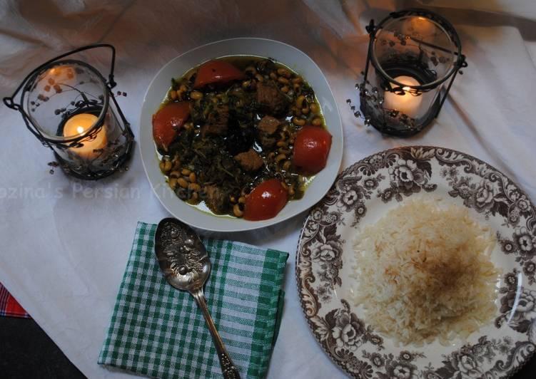 Easiest Way to Prepare Perfect Azerbaijani Ghormeh sabzi or herb stew