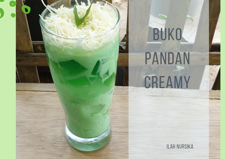 Buko Pandan Creamy