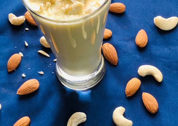 Recipe of Perfect Dry fruit milkshake
