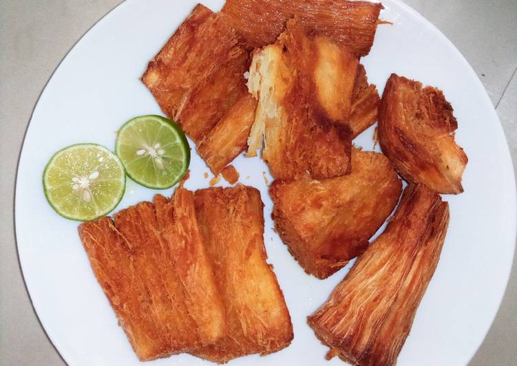 Step-by-Step Guide to Prepare Perfect Crunchy Fried cassava
