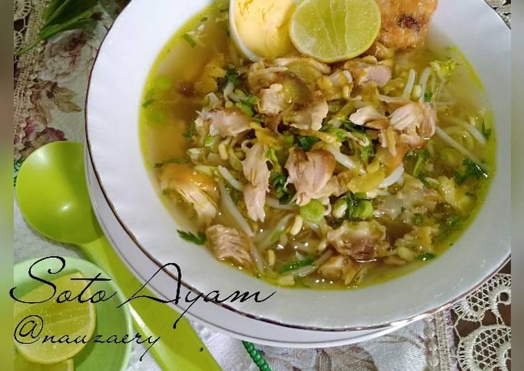 Resep Soto Ayam Ayam Potong Oleh Nauzaery Setyo Cookpad