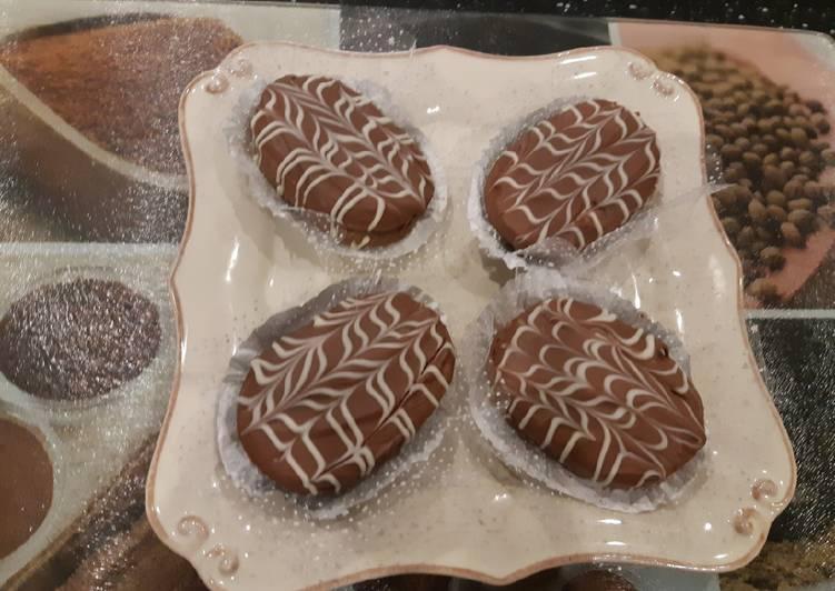 Les sablés au chocolat au lait un autre décore simple