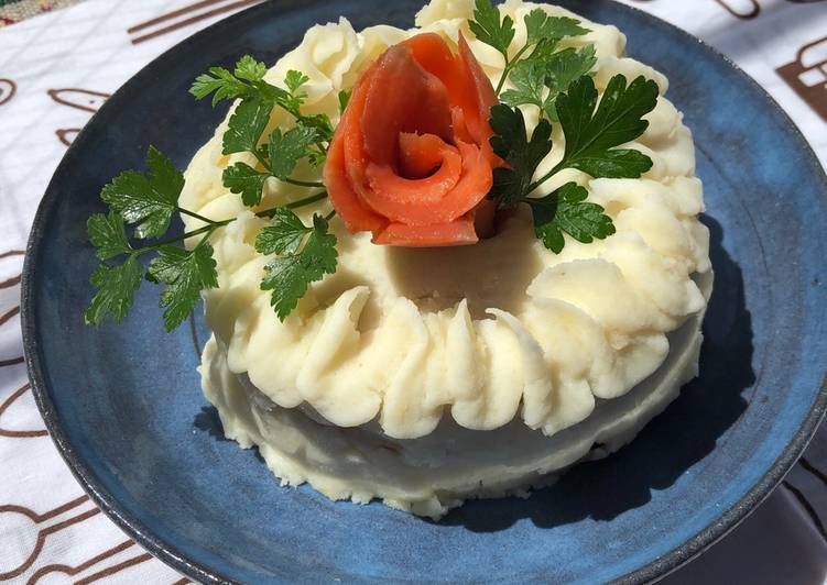 Step-by-Step Guide to Prepare Ultimate Potato Sandwiches Cake🌹
