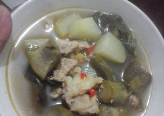 sayur asem jawa special daging sapi diet gm day 6 - resepenakbgt.com