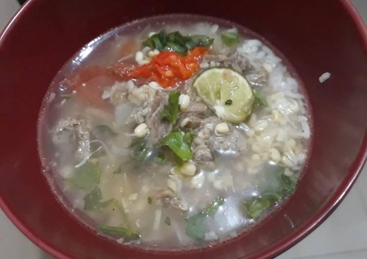 Soto daging bening ala2 soto boyolali