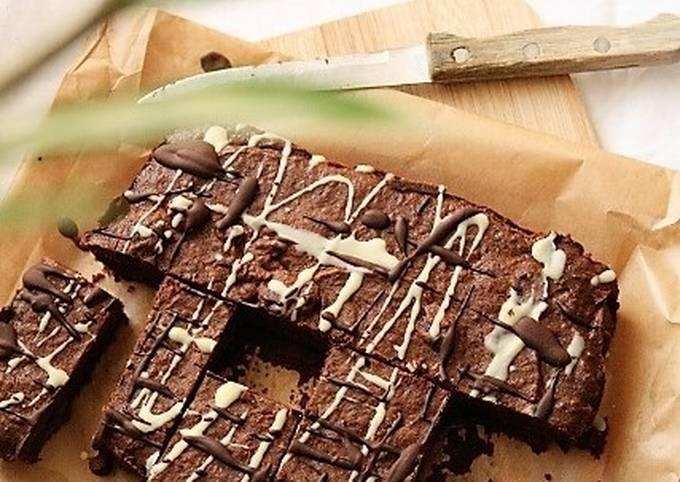 Brownie bio, sans gluten / sans lait / sans oeufs