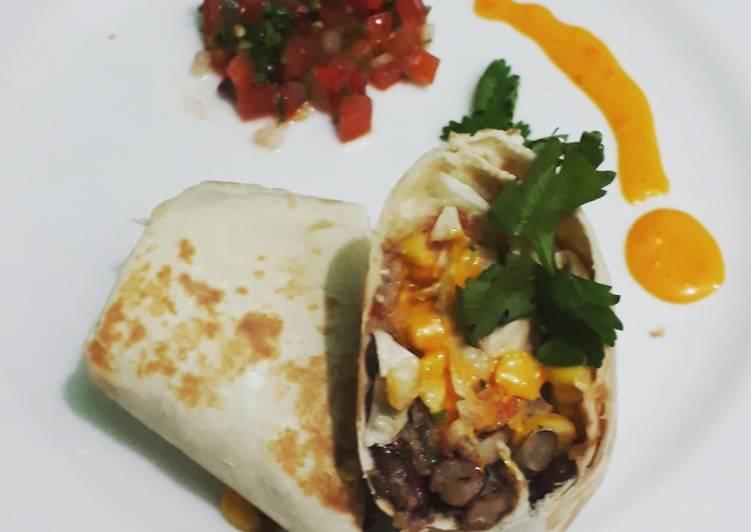 Resep Burrito Pico De Gallo Oleh Ficha Sabrina Cookpad