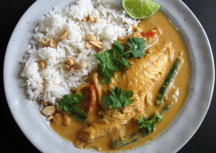 Recipe of Ultimate Thai Red Fish Curry