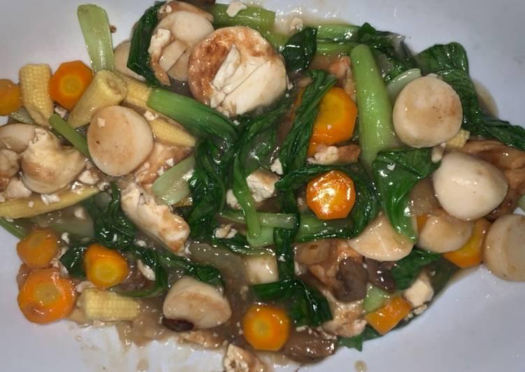 Capcay Goreng Oriental ala restoran