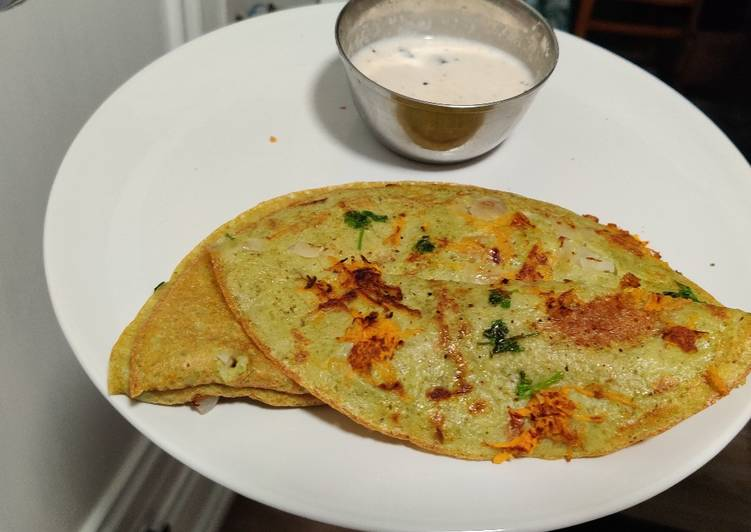 The Best Soft and Chewy Dinner Easy Autumn Whole green moong dal dosa