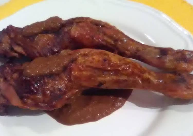 pollo al chocolate receta