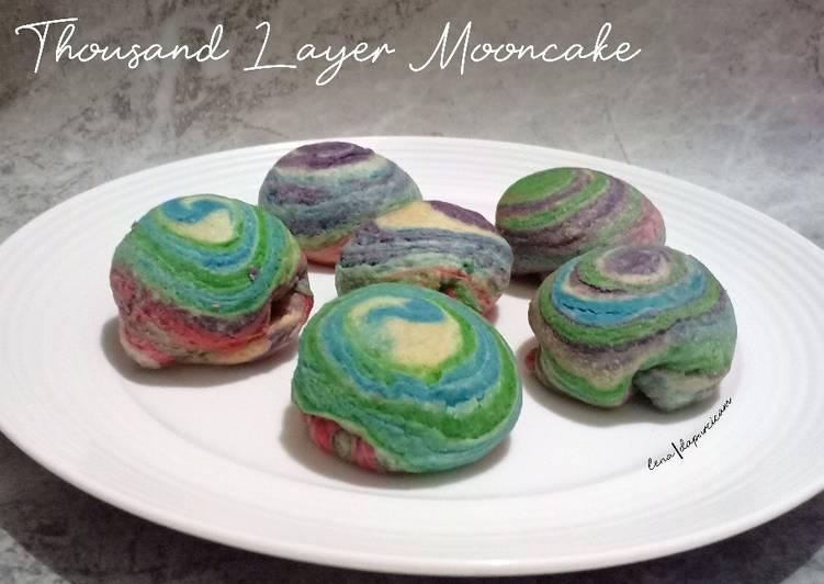 Thousand Layer Spiral - Petite Mooncake