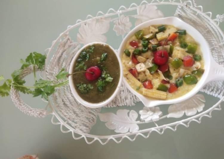 Recipe of Quick Makai and jowar porridge