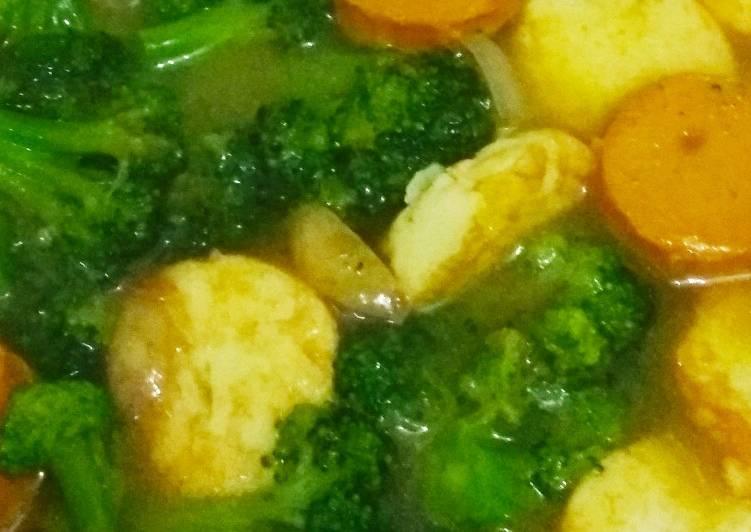 Tumis Tofu Brokoli