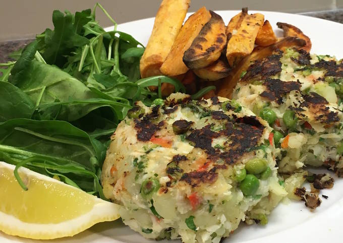 Recipe of Super Quick Homemade Packed Fishcakes