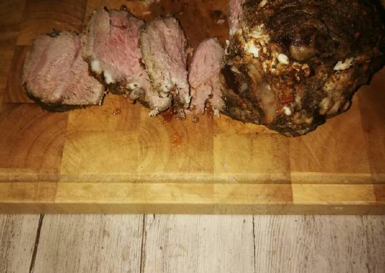 Easiest Way to Make Perfect Roasted leg of lamb
