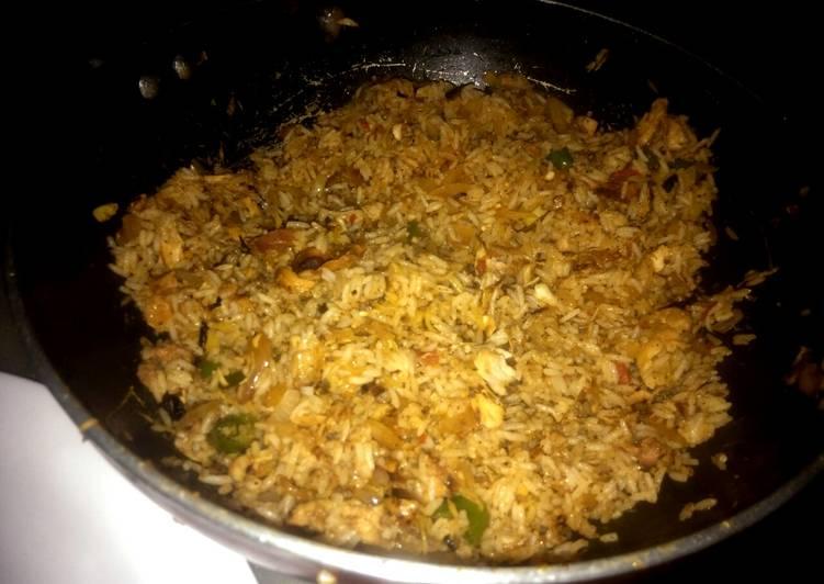 Shawarma Fried Rice