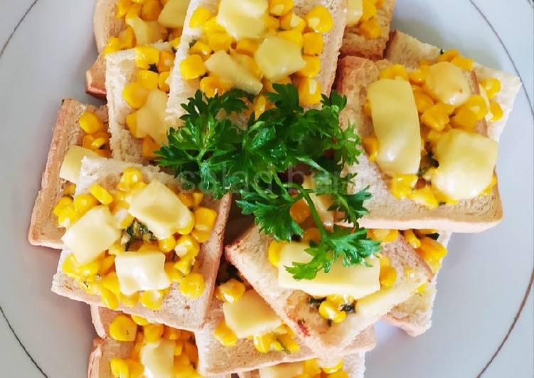 Roti Jagung Manis Keju Leleh