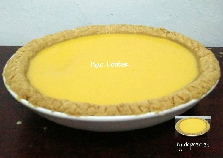 Resep Egg tart/pie susu/kue lontar Paling Top